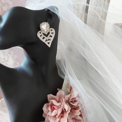 Wedding White earring