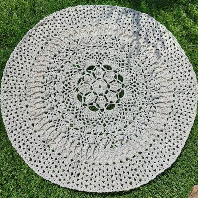 Háčkovaný koberec BIG95