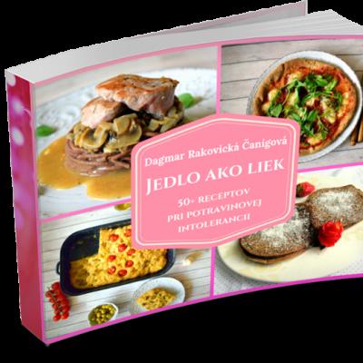 Ebook Jedlo ako liek - 50+ receptov pri potravinovej intolerancii