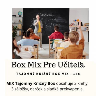 Tajomný knižný  Box - Pre učiteľa
