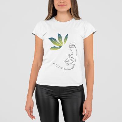 Ilustrácia na tričku line art