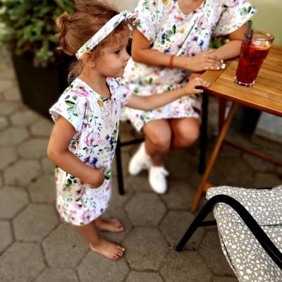 šaty MAMA  mama a dcéra