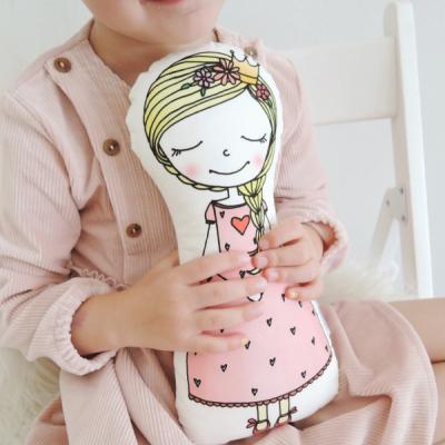 Princezná - mojkáčik v ružových šatách