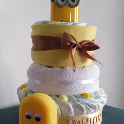Plienková torta Minion