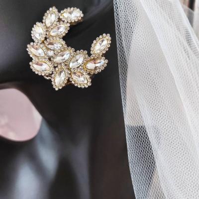 Svadobné náušnice Glamour