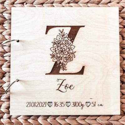 Detský drevený album