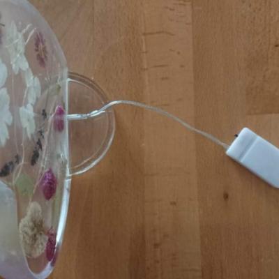 LED lampa Srdce