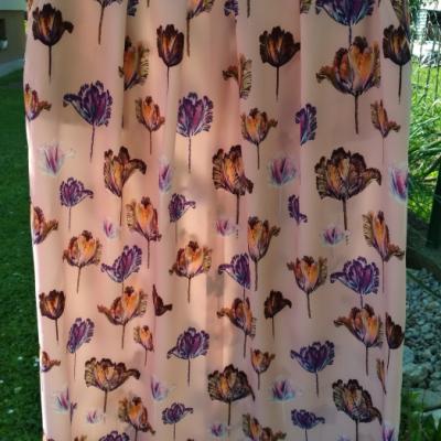 Dámska sukňa s vreckami
