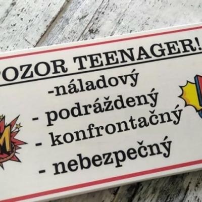 Pozor teenager