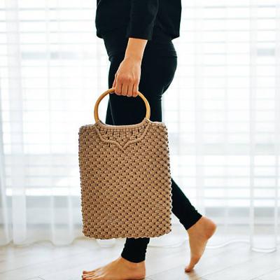 Makramé kabelka - shopper bag