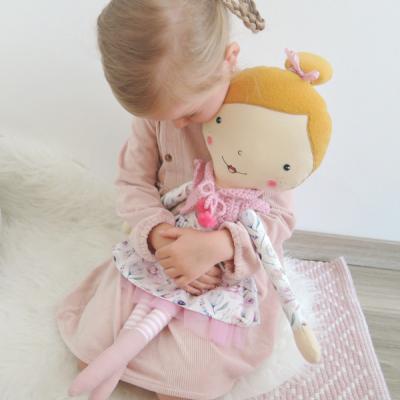 Bábika na lúke - 60 cm