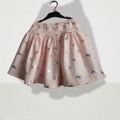 Mušelínová suknička jednorožec