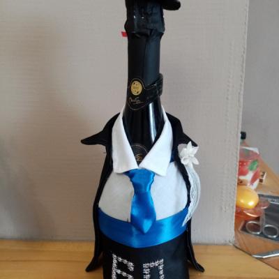 Ozdobená fľaša