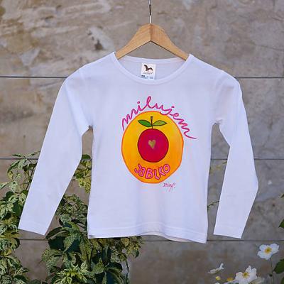 Tričko Milujem jablko