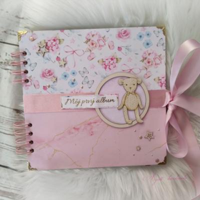 Babybook - Môj prvý album (dievčenský)