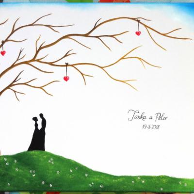 Wedding tree - svadobný strom 10