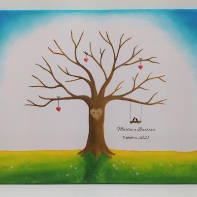 Wedding tree - svadobný strom 3