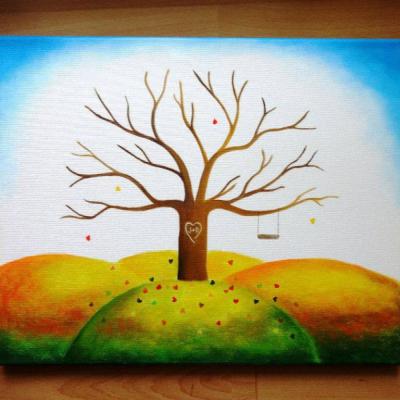 Wedding tree - svadobný strom 4