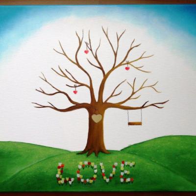 Wedding tree - svadobný strom 5