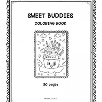 Sweet Buddies - omaľovanky