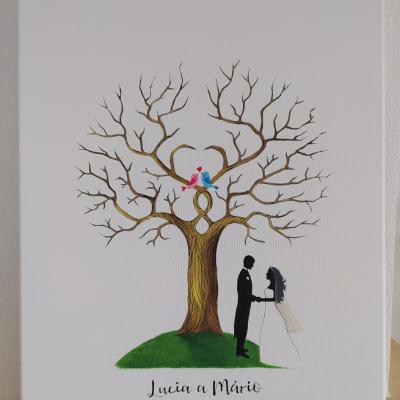 Wedding tree - svadobný strom 6
