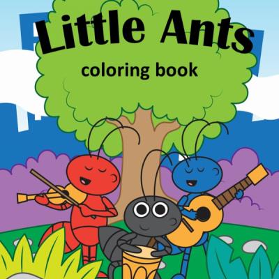 Malý Mravčekovia - omaľovanky