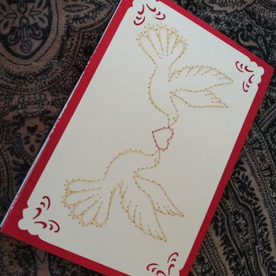 Magic card - hrdličky