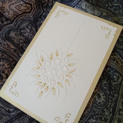 Magic card - svadobná kytica