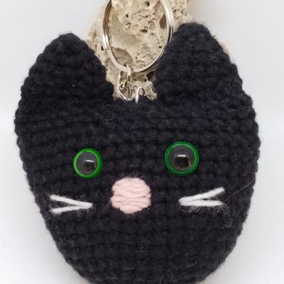 Čierna mačka - prívesok