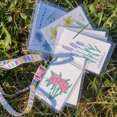 Kartičky kvety