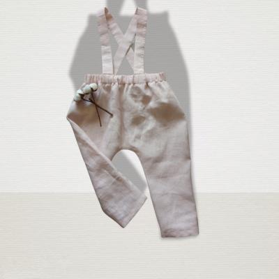 Ľanové dlhé nohavice