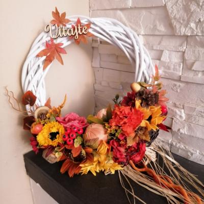 Jesenný veniec s cibuľou 34cm