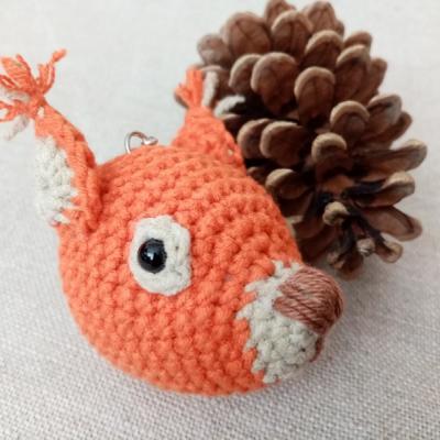 Veverička - privesok
