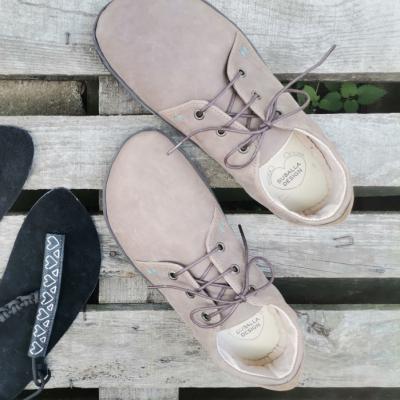 Supišky - barefoot poltopánky na mieru - dospelácke