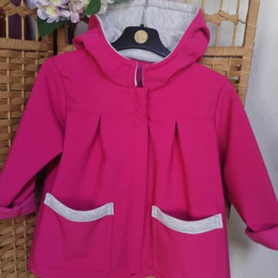 Dievčenská softshellová roztomilá bunda
