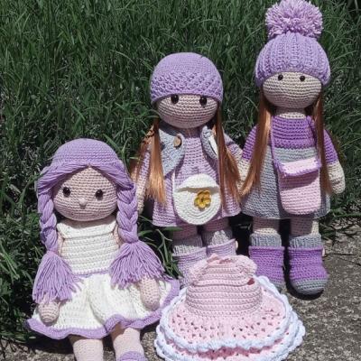 Háčkované bábiky- na objednávku