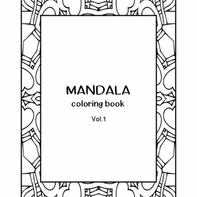Mandala  Vol.1 - omaľovanky