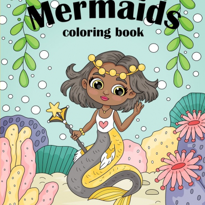Mermaids - omaľovanky