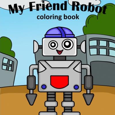 My Friend Robot - omaľovanky