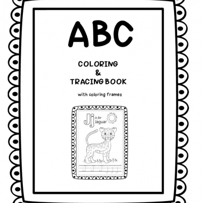 ABC - coloring and tracing book