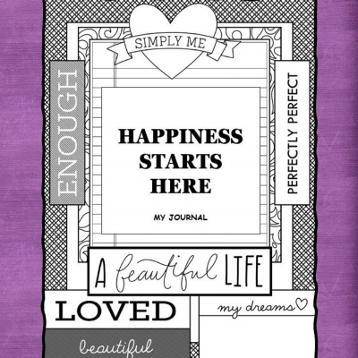 Happiness Starts Here - denník