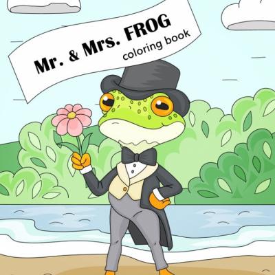 Mr. & Mrs. Frog - omaľovanky