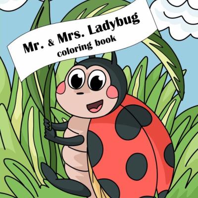Mr. & Mrs. Ladybug - omaľovanky