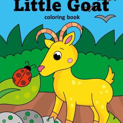 Little Goat - omaľovanky