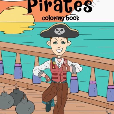 Pirates - omaľovanky