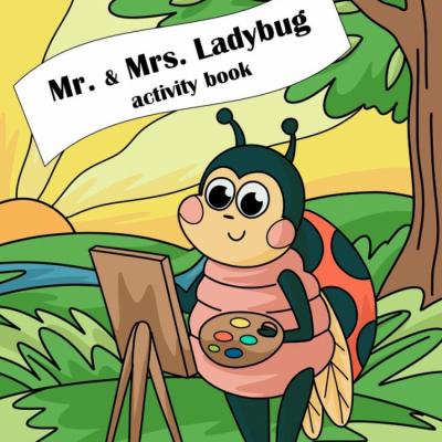 Mr. & Mrs. Ladybug - dot to dot book