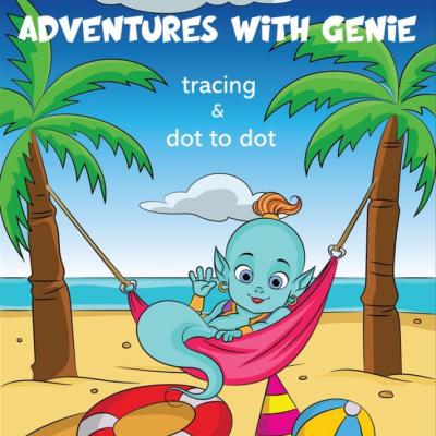 Adventures With Genie - activity book