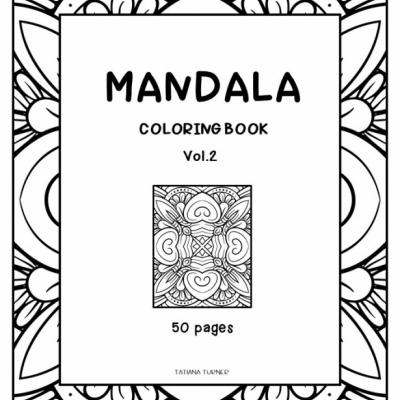 Mandala  Vol.2 - omaľovanky