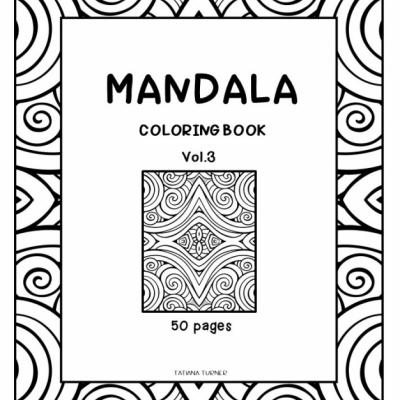 Mandala  Vol.3 - omaľovanky