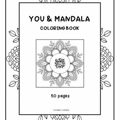 You and Mandala - omaľovanky